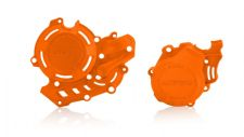 KTM SXF FC 450 16 17 18 EXCF FE 450 17 18 Clutch Ignition Cover Protector Orange
